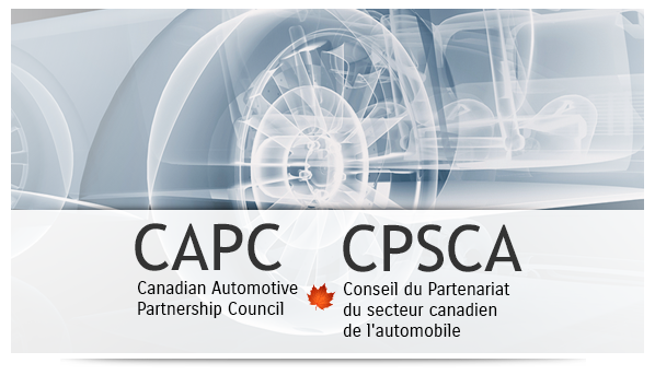 Welcome to the Canadian Automotive Partnership Council (CAPC) web site / Conseil du Partenariat 